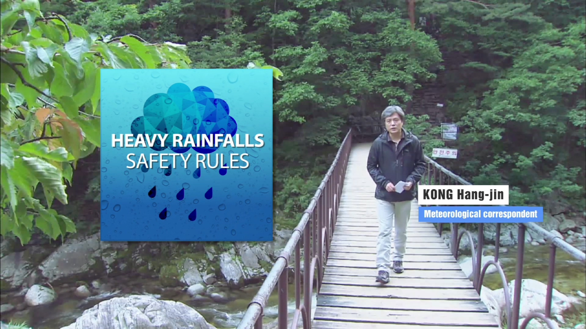Heavy Rainfalls Safety Rules